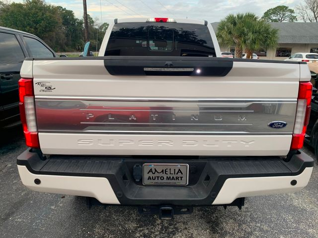 2018 Ford Super Duty F-350 SRW Pickup Platinum in Amelia Island, FL 32034