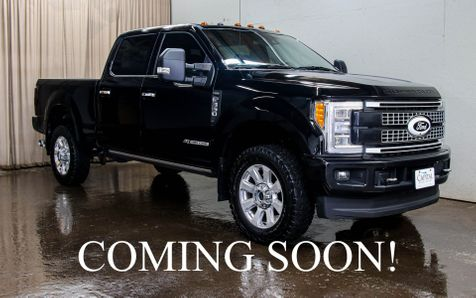 2018 Ford F-350 Platinum Super Duty 4x4 w/Panoramic Roof, Heated Front & Rear Seats in Eau Claire