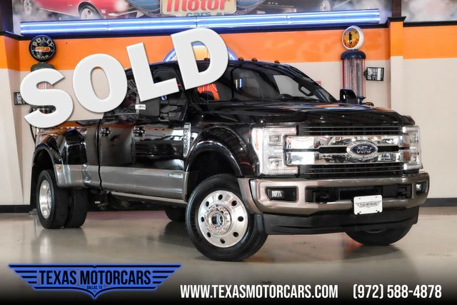 2018 Ford Super Duty F-450 King Ranch 4x4 in Plano, TX 75075