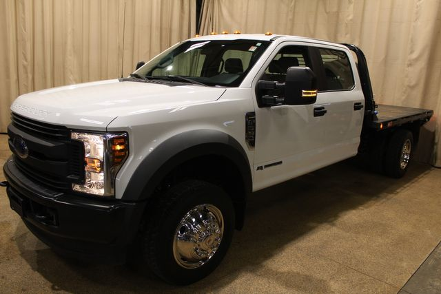2018 Ford Super Duty F-550 Diesel 4x4 Crew Cab flat bed XL in Roscoe, IL 61073