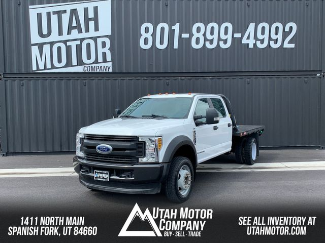 2018 Ford Super Duty F-550 DRW Chassis Cab XL