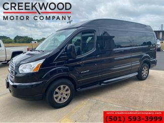 2018 Ford Transit Van Explorer SE Luxury Conversion Black Tv Dvd 7-Pass in Searcy, AR 72143