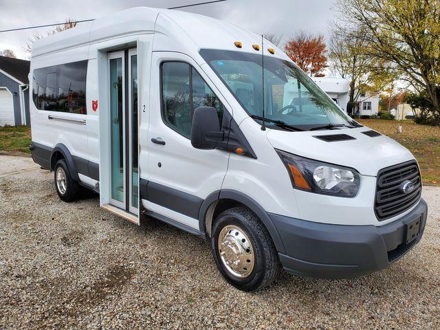 2018 Ford Transit 350 10-14 Passenger Shuttle Van Bus Style Passenger Door