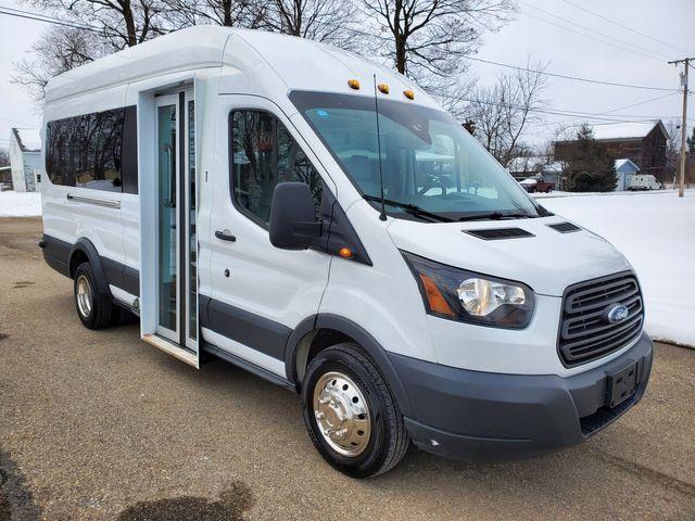 2018 Ford Transit 350 15 Passenger Shuttle Van Bus Style Passenger Door