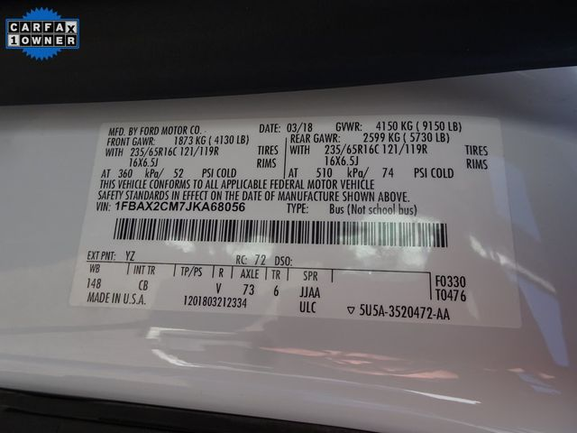 2018 Ford Transit Passenger Wagon XLT Madison, NC 39