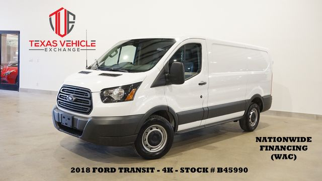 2018 Ford Transit Van Cargo Van BACK-UP CAM,VINYL,4K,WE FINANCE