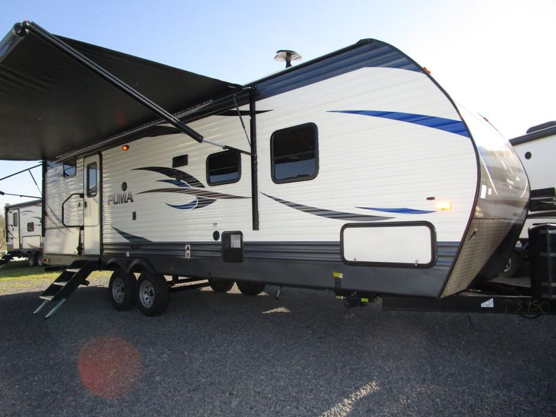 2018 Forest River Puma 28FQDB  in Charleston, SC