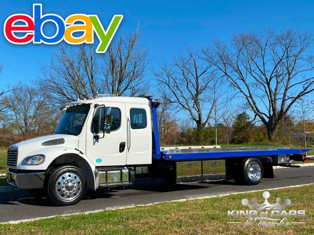2018 Freightliner M2 Ext Cab CUMMINS ROLLBACK LOW MILE HARD LOADED TOW TRUCK
