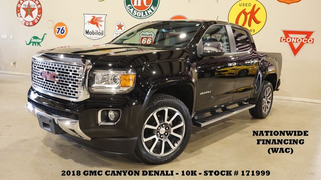 2018 GMC Canyon Denali 4WD NAV,BACK-UP CAM,HTD/COOL LTH,10K