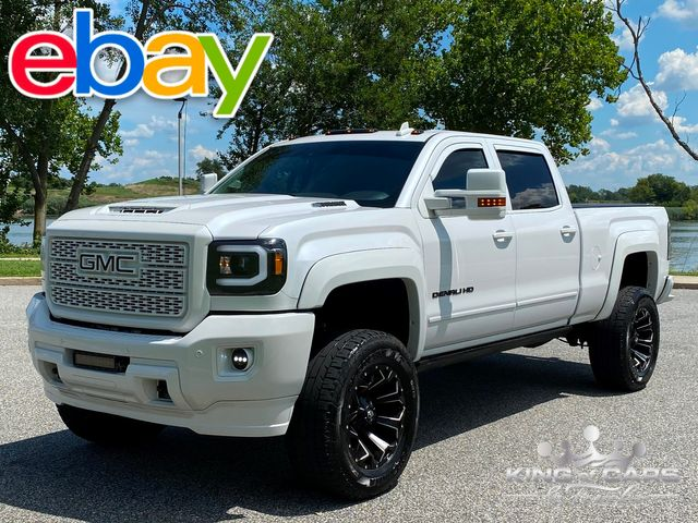 2018 Gmc Denali 2500hd Duramax DIESEL 4X4 LOW MILES ALL OPTIONS LIFTED MUST SEE