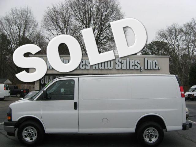 2018 GMC Savana Cargo Van G2500 Richmond, Virginia 0