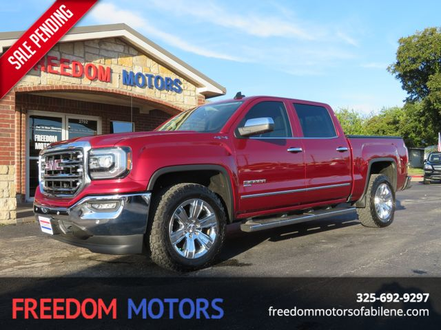 2018 GMC Sierra 1500 SLT 4x4 | Abilene, Texas | Freedom Motors  in Abilene,Tx Texas