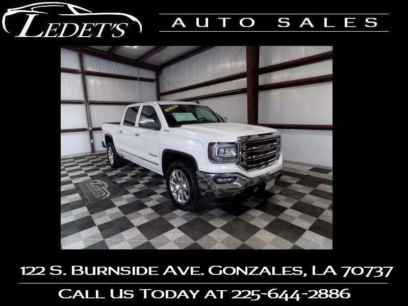 2018 GMC Sierra 1500 SLT - Ledet's Auto Sales Gonzales_state_zip in Gonzales Louisiana