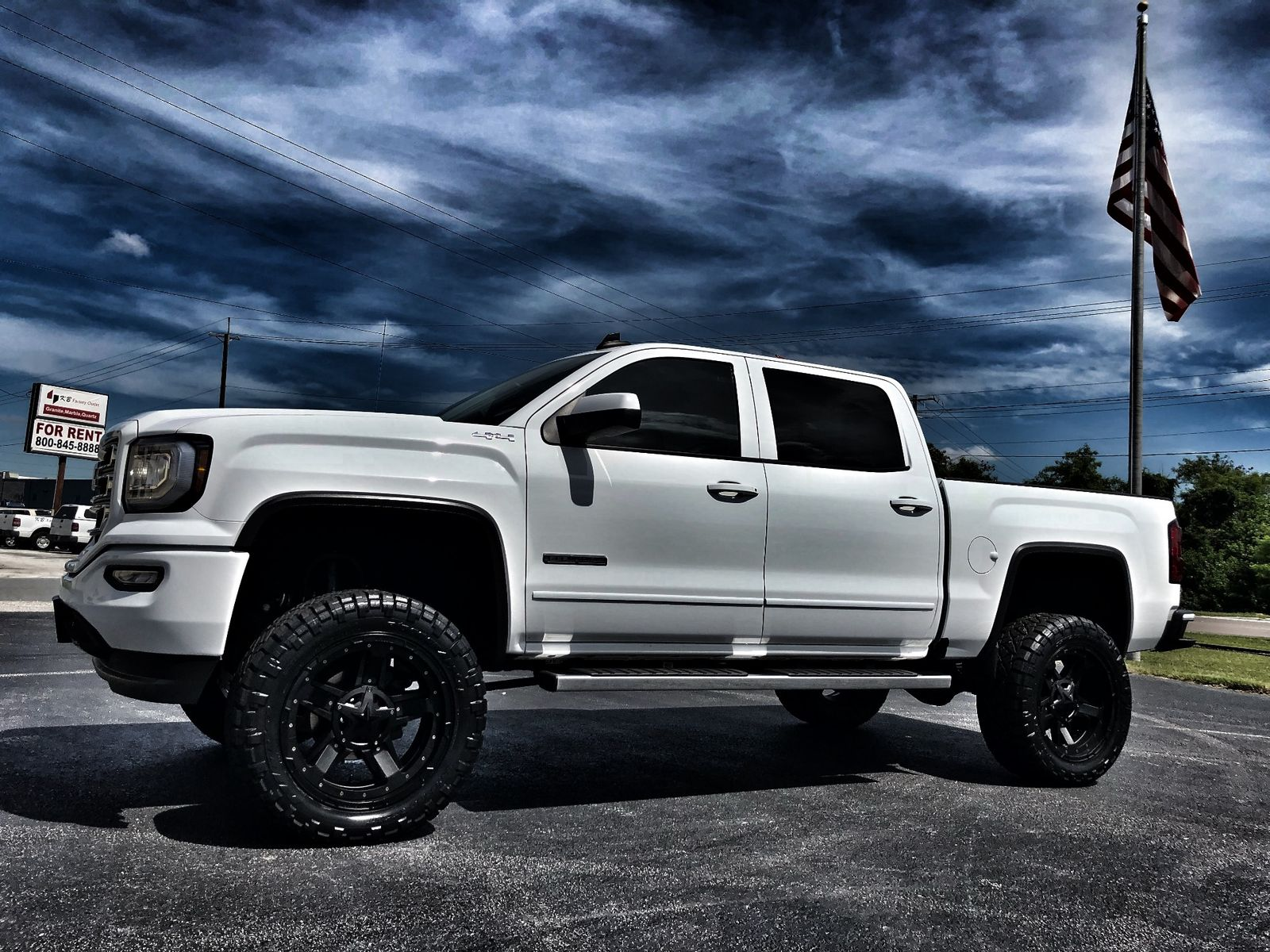 custom lift 2016 GMC Sierra 1500 SLE All Terrain crew cab ... |Lifted Gmc Sierra