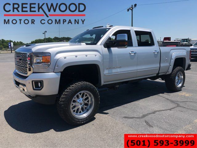 2018 GMC Sierra 2500HD Denali 4x4 Diesel Lifted Fuel 20s Nav Roof CLEAN