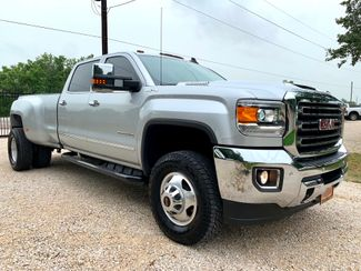 2018 GMC Sierra 3500HD SLT Crew Cab 4x4 6.6L Duramax Diesel Auto Dually in Sealy, Texas 77474