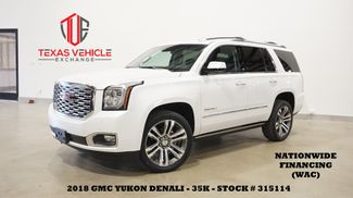 2018 GMC Yukon Denali 4WD HUD,ROOF,NAV,REAR DVD,HTD/COOL LTH,22'S,36K in Carrollton, TX 75006