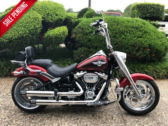 2018 Harley-Davidson Fat Boy 114 in McKinney, TX 75070