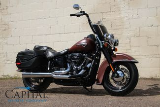 2018 Harley-Davidson Heritage Softail FLHCS with 114ci V-Twin, LED Head in Eau Claire, Wisconsin