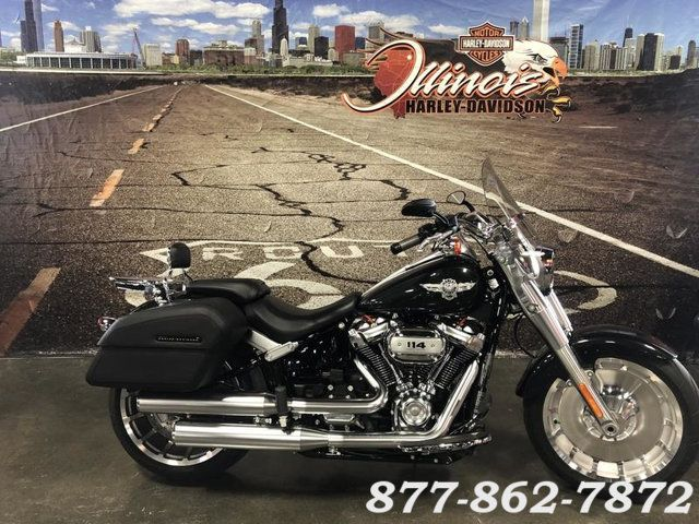 2018 Harley-Davidson SOFTAIL FAT BOY 114 FLFBS FAT BOY 114 FLFBS in Chicago, Illinois 60555