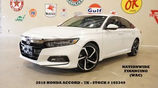 2018 Honda Accord Sport 1.5T AUTO,BACK-UP CAM,CLOTH,7K,WE FINANCE in Carrollton, TX 75006