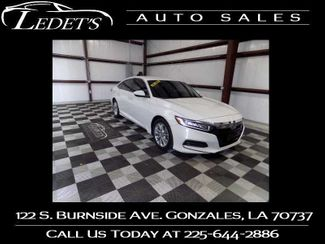 2018 Honda Accord LX 1.5T - Ledet's Auto Sales Gonzales_state_zip in Gonzales