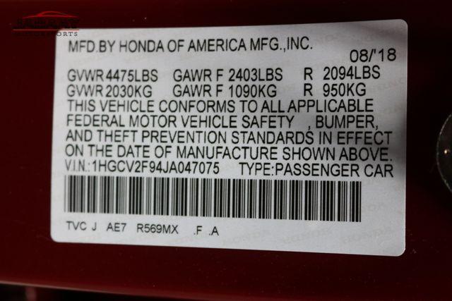2018 Honda Accord Touring 2.0T Merrillville, Indiana 48