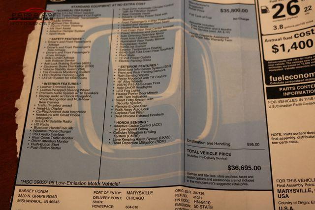 2018 Honda Accord Touring 2.0T Merrillville, Indiana 50
