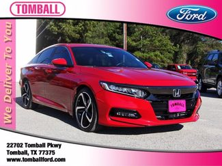 2018 Honda Accord Sport 1.5T in Tomball, TX 77375
