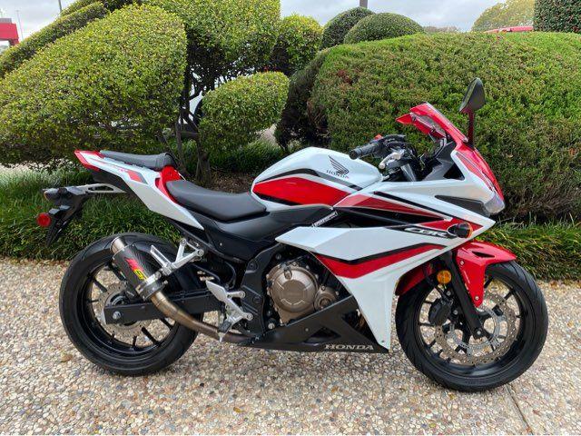 2018 Honda CBR500RA
