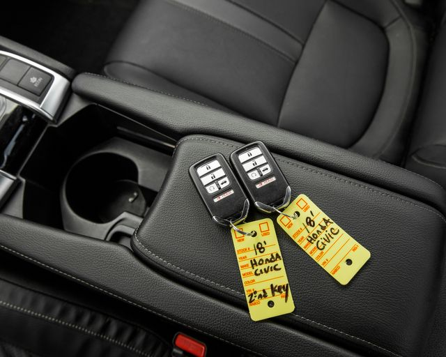 2018 Honda Civic EX-L Burbank, CA 23