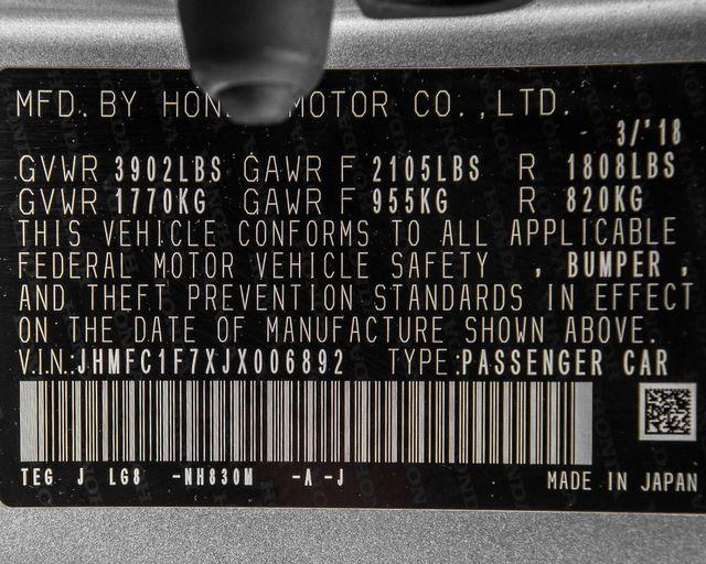 2018 Honda Civic EX-L Burbank, CA 31