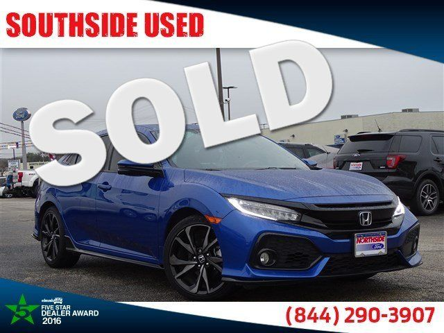 2018 Honda Civic Sport Touring | San Antonio, TX | Southside Used in San Antonio TX
