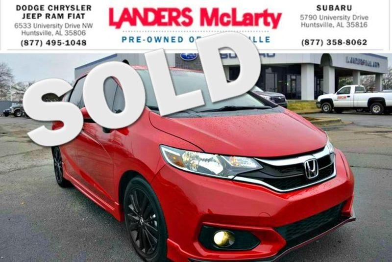 2018 Honda Fit Sport | Huntsville, Alabama | Landers Mclarty DCJ & Subaru in Huntsville Alabama