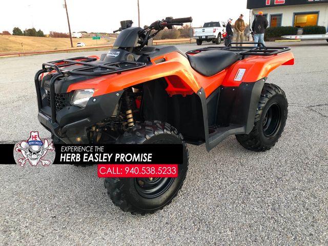 2018 Honda TRX420TM1
