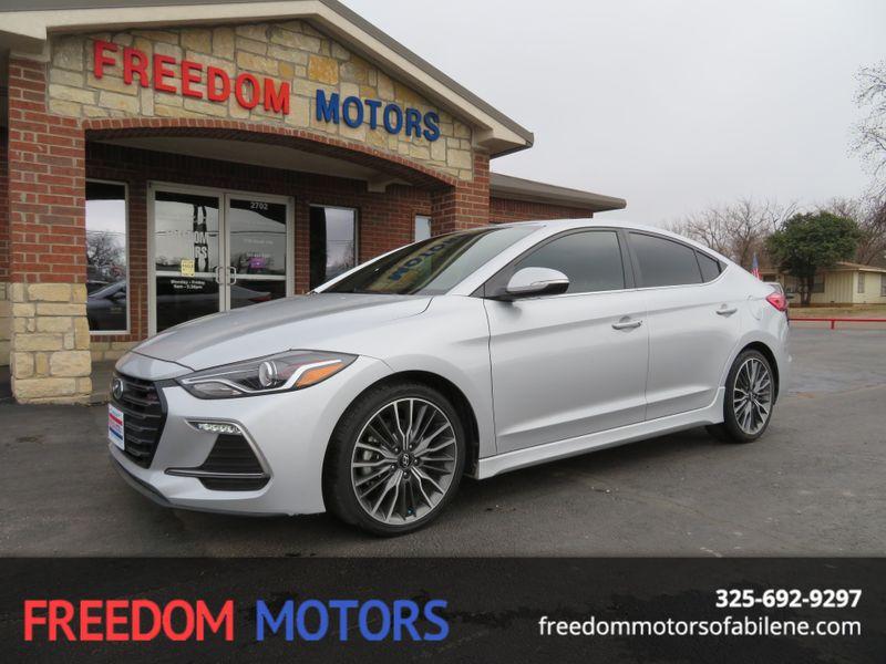 2018 Hyundai Elantra Sport Premium | Abilene, Texas | Freedom Motors  in Abilene Texas