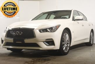 2018 Infiniti Q50 3.0t LUXE w/ Navigation/ Safety Tech in Branford, CT 06405