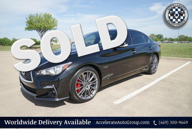 2018 Infiniti Q50 RED SPORT 400 ONLY 850 MILES in Rowlett