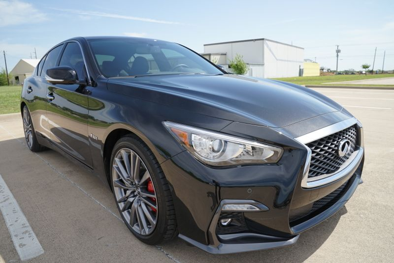 2018 Infiniti Q50 RED SPORT 400 ONLY 850 MILES in Rowlett, Texas