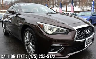2018 Infiniti Q50 3.0t LUXE Waterbury, Connecticut 6