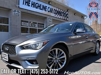 2018 Infiniti Q50 3.0t LUXE Waterbury, Connecticut