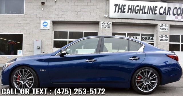 2018 Infiniti Q50 RED SPORT 400 Waterbury, Connecticut 2