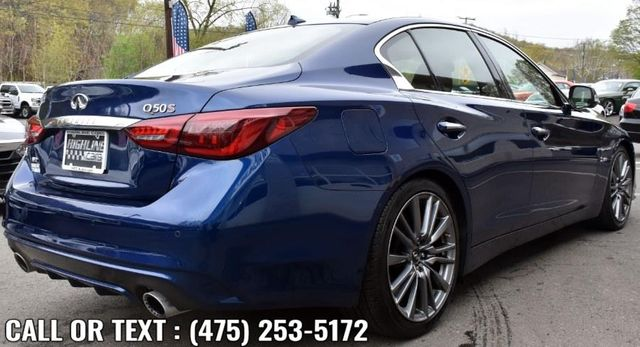 2018 Infiniti Q50 RED SPORT 400 Waterbury, Connecticut 5