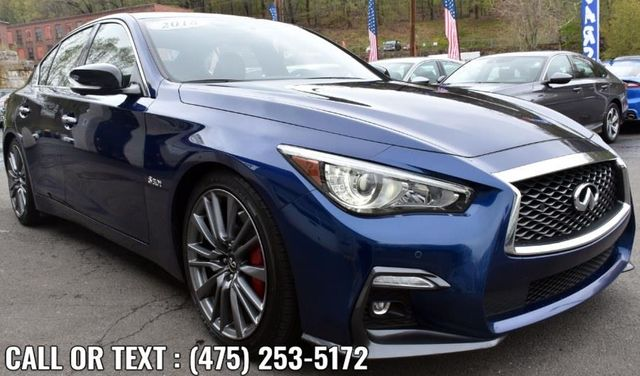 2018 Infiniti Q50 RED SPORT 400 Waterbury, Connecticut 7