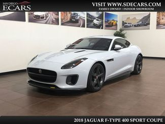 2018 Jaguar F-TYPE 400 Sport in San Diego, CA 92126