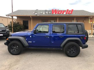 2018 Jeep All-New Wrangler Unlimited Sport 4X4 in Marble Falls, TX 78611