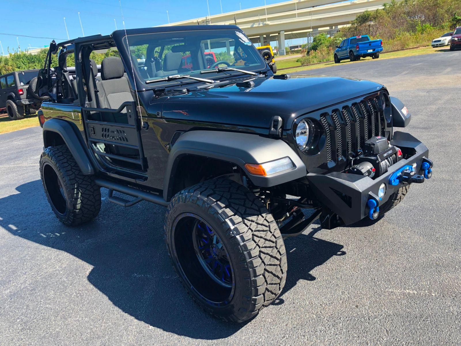2018 Jeep All New Wrangler Custom Lifted Sport 2 Door Auto Fuel 35s Cap Ocd Florida