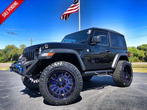2018 Jeep All-New Wrangler CUSTOM LIFTED SPORT 2 DOOR AUTO FUEL 35