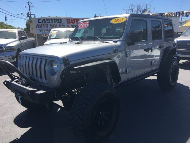 2018 Jeep All-New Wrangler Unlimited Sport S in Arroyo Grande, CA 93420