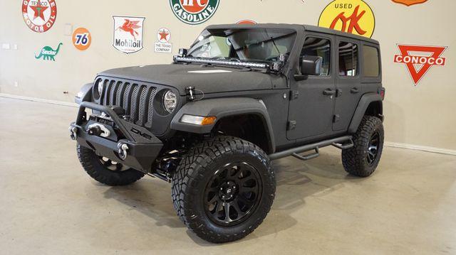 2018 Jeep Wrangler JL Unlimited Sport 4X4 CUSTOM,LIFTED,HTD LTH,LED'S,FUEL WHLS